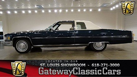 1975 Cadillac De Ville for sale 100770825